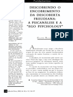 Descobrindo o Encobrimento Da Descoberta Freudiana