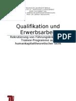 Rekrutierung von Führungskräften über Trainee-Programme aus humankapitaltheoretischer Sicht(Abgabe 05_02) (1)