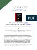 The Economics of Conspiracy Theories