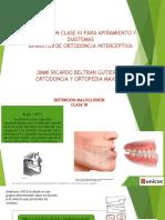 Clase III Apiñamiento y Diastemas