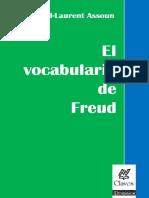 El Vocabulario de Freud Assoun Paul Laur