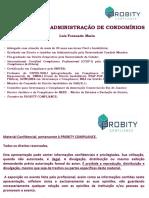 Compliance Na Administração de Condomínios