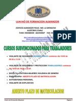 Cursos Centro de Formacion Almanzor
