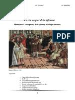 Ipertesto Lutero e le origini della riforma
