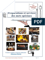 02 Livre Des Préparations Et Services en Salle BTP