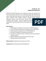08-4001- Administrasi Personalia