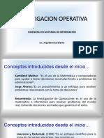 Unidad I- Introduccion a La Io - Isi