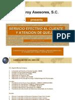 MATERIAL CURSO SERVICIO AL CLIENTE EFECTIVO Y ATENCION DE QU