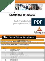 Slide Aula 5, 6, 7 e 8 - Probabilidade e Distribuições