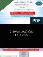 PARTE 2. Cap 3 Evaluacion Externa
