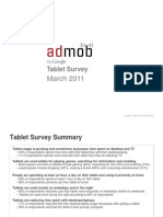AdMob - Tablet Survey