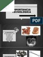 IMPORTANCIA TECNOLOGICA