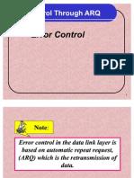 ARQ-Error correction-Lec12