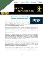 Bases de Participación 2021 Premio Docentes Extraordinarios NTP México