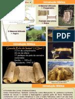 1 Introdução Bíblica - MBCV - SAPIRANGA - Introdução Bíblica - Pastor Jonas Souza