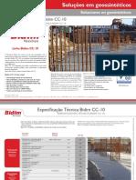Especificação Técnica Bidim CC-10