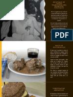 Recetario de Cocina Tradicional Del Pueblo de Iztacalco