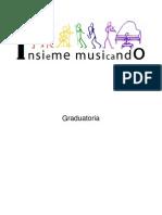 Graduatoria progetto INSIEME MUSICANDO