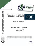 Caderno de Prova II