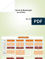 Potencial de Bioenergia en el Peru