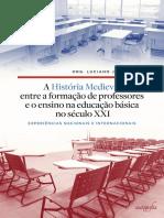 A História Medieval Entre a Formação