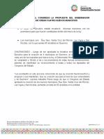31-08-2021 SE APRUEBA EN EL CONGRESO LA PROPUESTA DEL GOBERNADOR HÉCTOR ASTUDILLO DE CREAR CUATRO NUEVOS MUNICIPIOS.docx