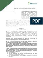 Normativa 114 Anvisa