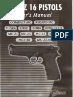 Girsan Yavuz 16 Users Manual