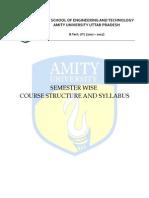 B.Tech - IT syllabus 5,6 sem