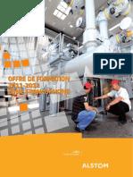 Alstom Grid Technical Institute Global Catalog-FR