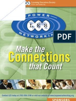 Make the that Count: Connections