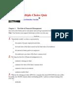 Sample Quiz