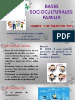 BASES SOCIOCULTURALES - FAMILIA