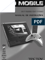 Manual DVD TecToy T6000 - T7000