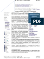 Las Organizaciones en Aprendizaje - PETER SENGE - La Quinta disciplina
