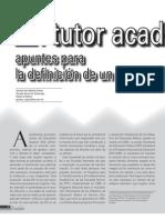 El tutor académico