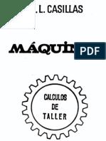 MÁQUINAS-CÁLCULOS DE TALLER