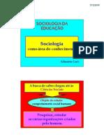 Sociologia teoricos evolucao