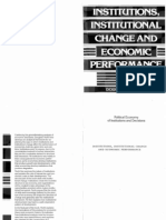 Institutions, Institutional Change and Economic Performance - NORTH, Douglass C.