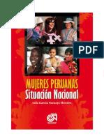 Mujeres Peruanas Situacion Nacional