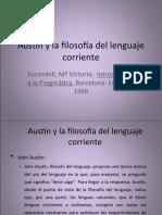 Austin y la filosofía del lenguaje corriente