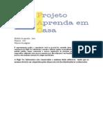 Projeto Aprenda em Casa - curso Java - Modulo 20