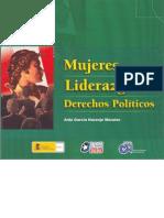 Mujeres Liderazgo y Derechos Políticos
