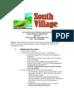 Jan '08 SVMC Minutes
