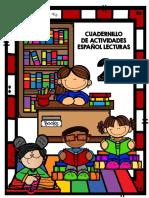 Cuadernillo de Actividades de Español Lecturas [2°]