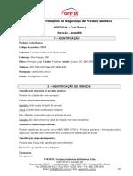 FISPQ 007-2014 COLA BRANCA - FortFix