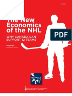 The New Economics of the NHL - Why Canada Can Support 12 Teams