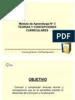 5 TEORÍAS Y CONCEPCIONES CURRICULARES(1)