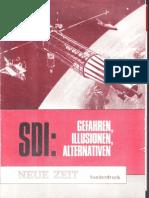 1987.Neue Zeit.SDI Sonderdruck