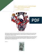 Fonctionnement Architecture Et Technologie Des Moteurs d Automobile 2eme Partie - Presentation Du Bloc Moteur